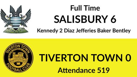 Salisbury 6-0 Tiverton Town