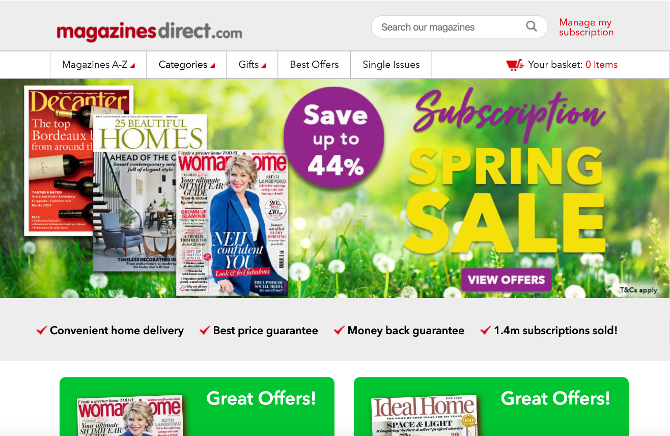 MagazinesDirect Website.png