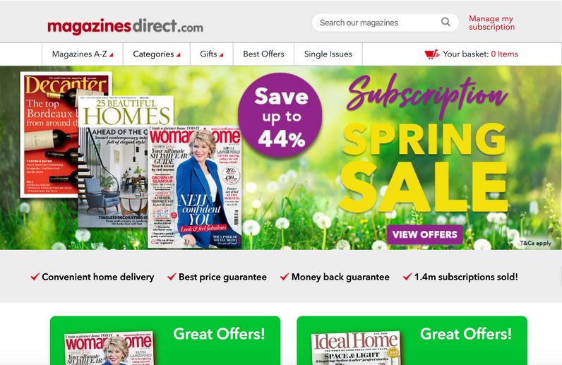 MagazinesDirect Website.png