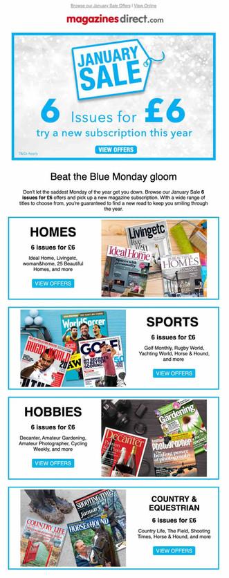 MagazinesDirect Email
