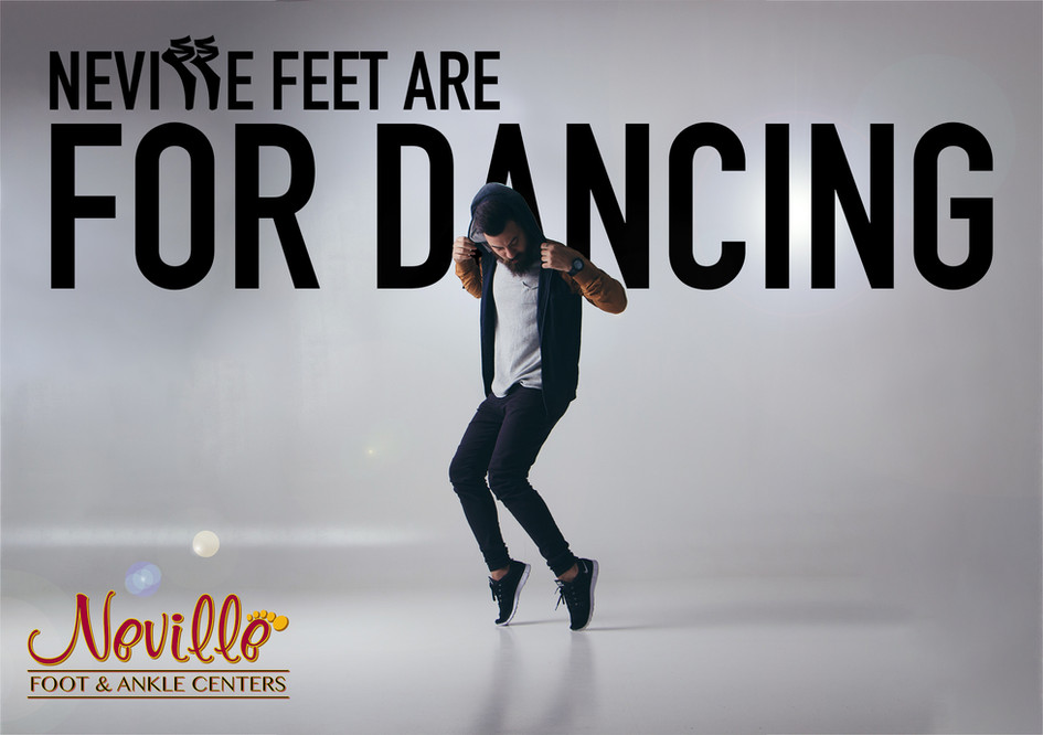 NEVILLE FEET FOR DANCING