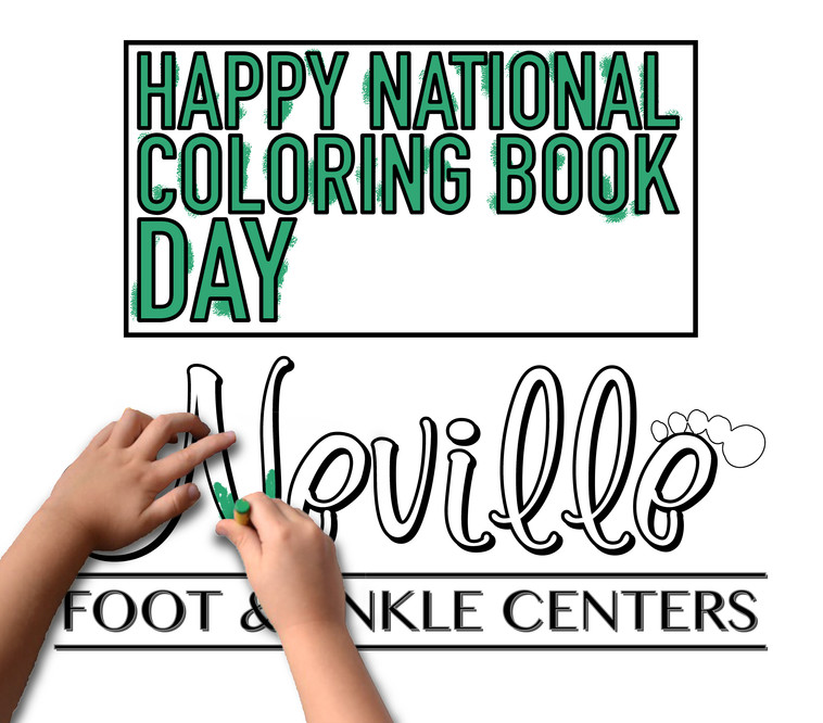 Coloring book day!