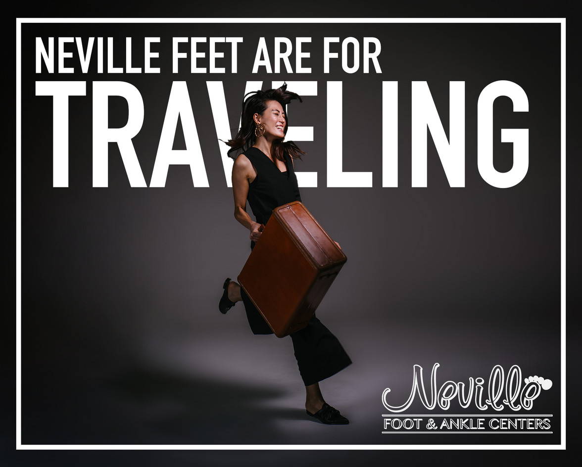NEVILLE FEET ARE FOR TRAVELING