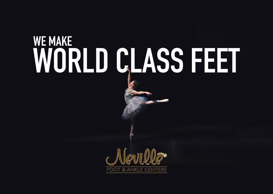 World Class Feet