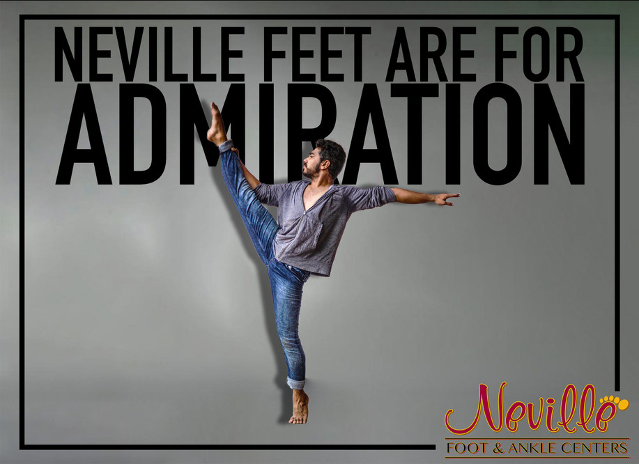 FEET FOR ADMIRATION