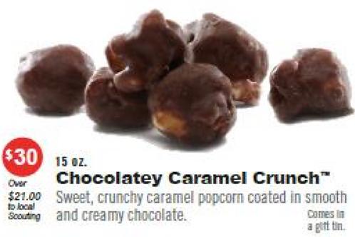 CHOCOLATEY CARAMEL CRUNCH