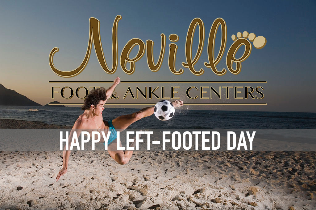 Happy Left-Footed Day