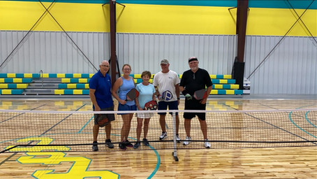 Now Introducing.... PICKLEBALL!