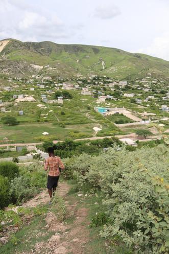 A stroll through the hills.