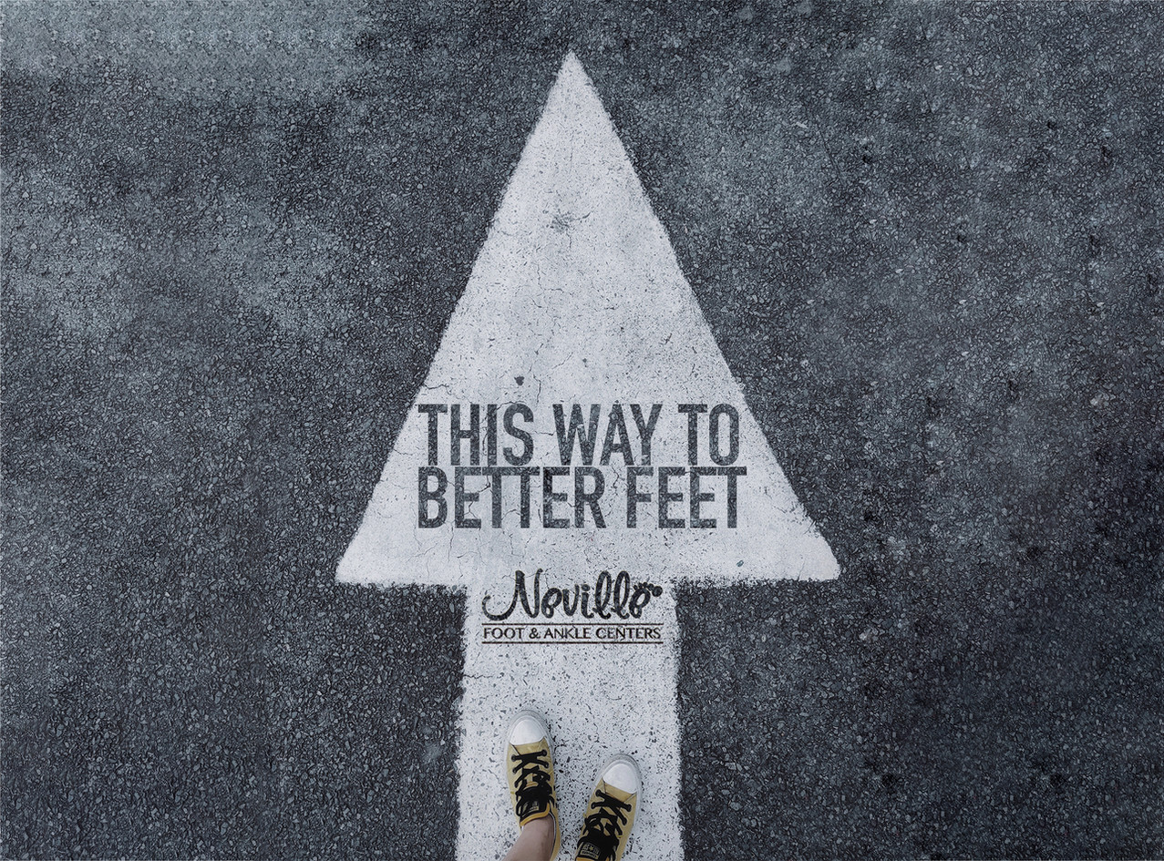 This way to better feet!