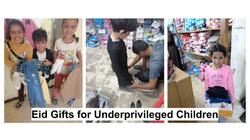 Eid Gifts for Underprivileged Children