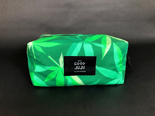 Travelers Toiletry Pouch- Jah Jah Green