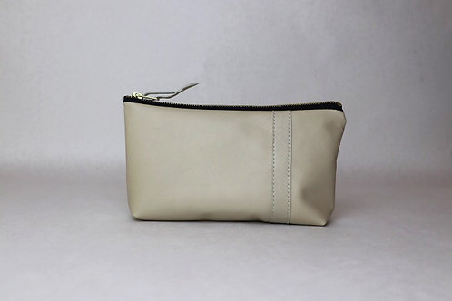 Pencil Clutch-Ivory