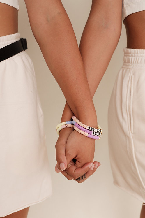 Pastel Rainbow Bracelet- Millie Pico Collab