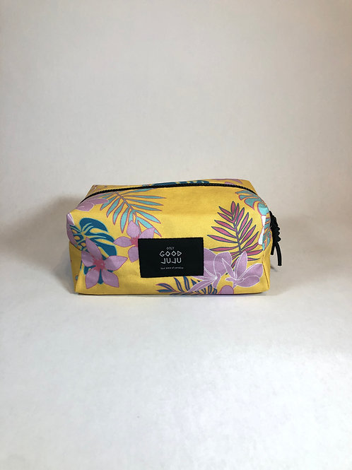 Travelers Toiletry Pouch - Yellow Paradise