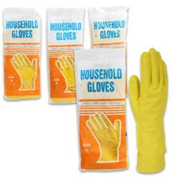 Gloves,1Pairlatex Sml/Med/Lrg/Xl