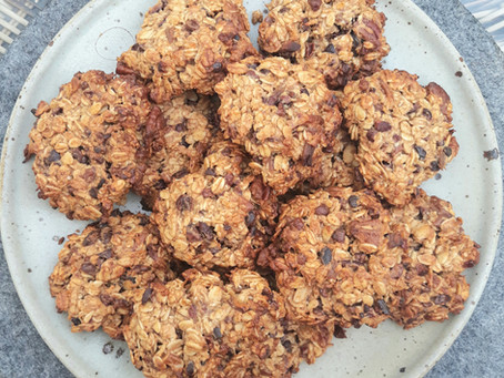 Healthy but delicious oaty cookies