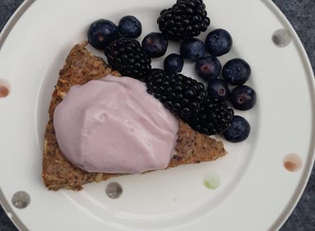 New gluten-free, dairy-free, sugar-free baked pancake