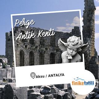 Perge Antik Kenti - Made with PosterMyWa