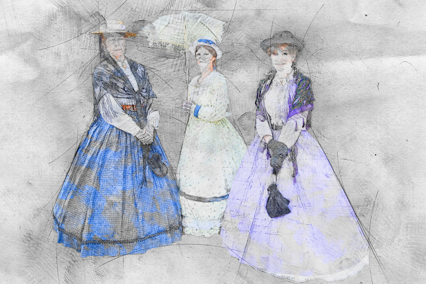 Ladies Three in Sunday Best