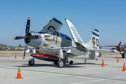 A-1 Skyraider Navy Bomber