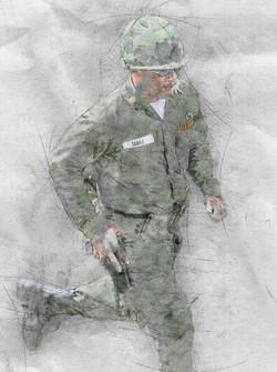 Soldier Viet Nam Era