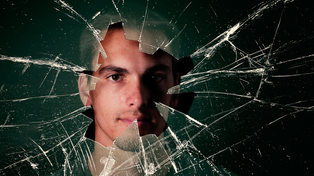 Tom Through Broken Glass