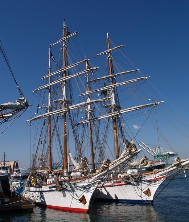 """Ma & Pa"" Tall Ships"