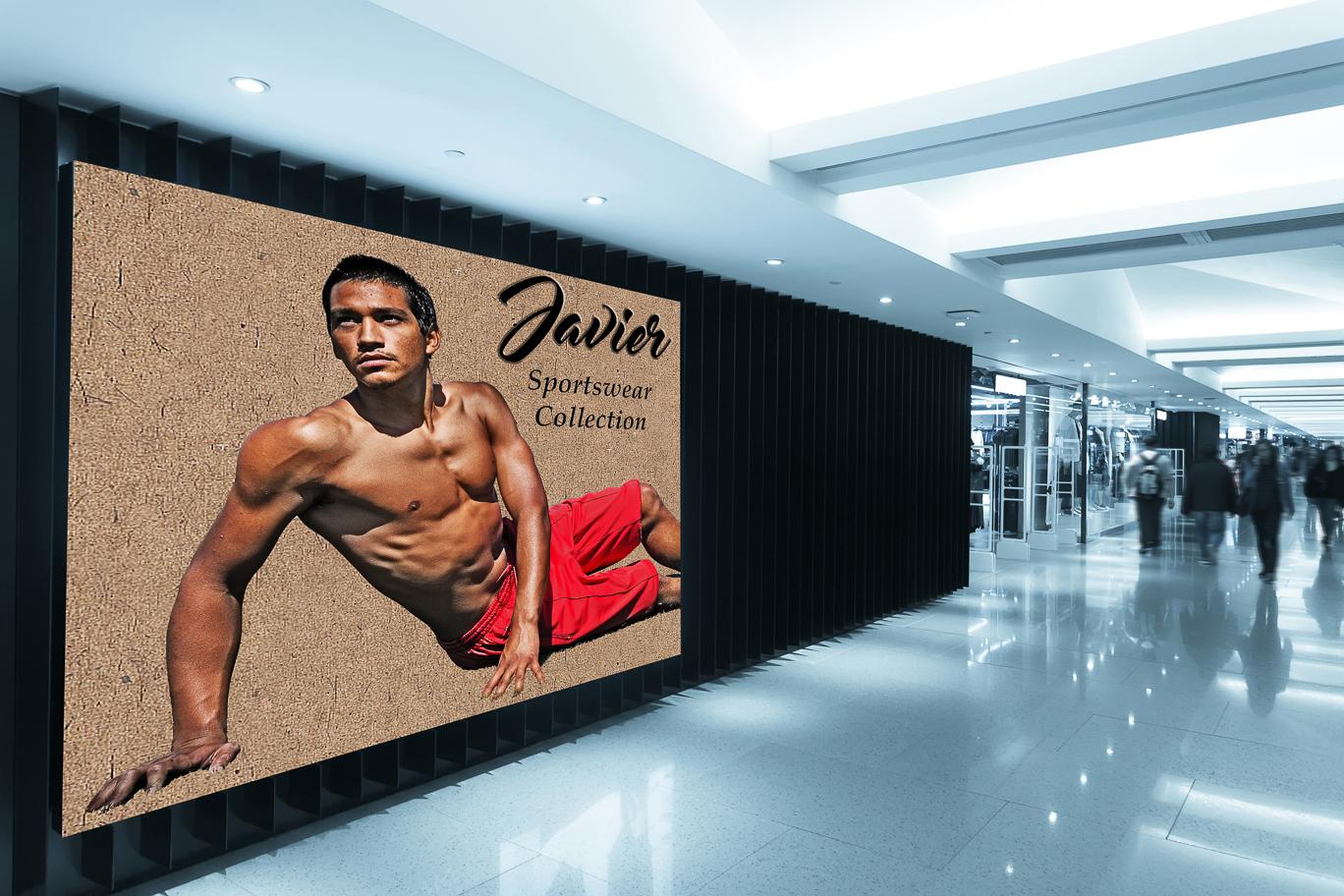 Javier Sportswear Billboard 2