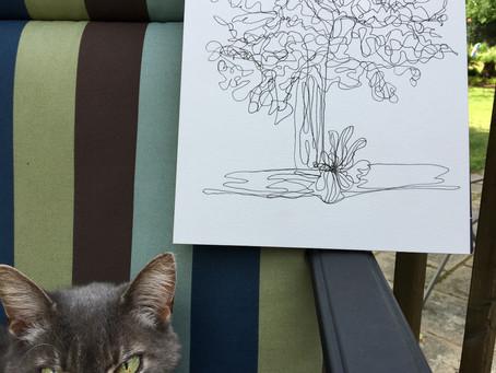 Art Exercise vs. Real Art
