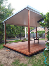 170820 Deck and Insulated Roof