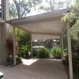 15420 Insulated skillion carport