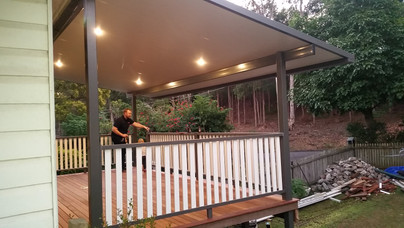 Norman Park deck and Insulated roof-1
