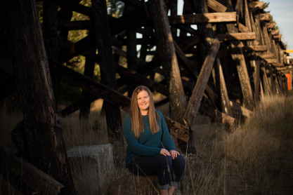 Fall outdoor mother portrait by A Bit O' Whimsy Photography