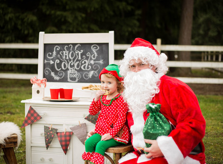 Hot Cocoa and Cookies with Santa