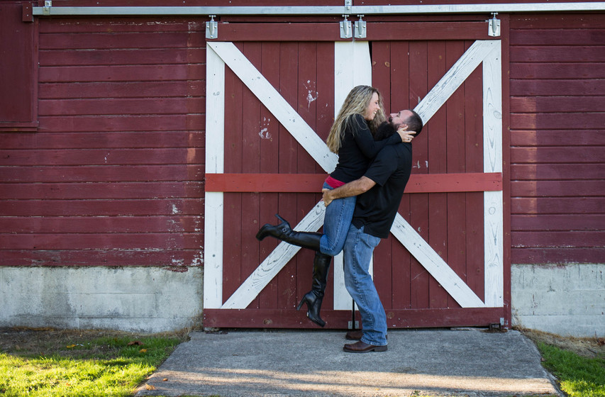 Engaments photos at Steilacoom Fort Park by A Bit O' Whimsy