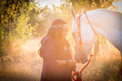Arabian horse photo session in Olympia, Washington. Photos by A Bit O' Whimsy photography.