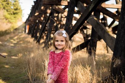 Little girl outdoor portrtait