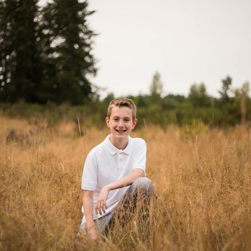 Tween Boy Photography Yelm WA