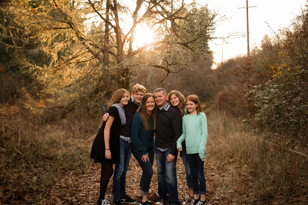 Fall family photos in Yelm, WA by A Bit O' Whimsy photography