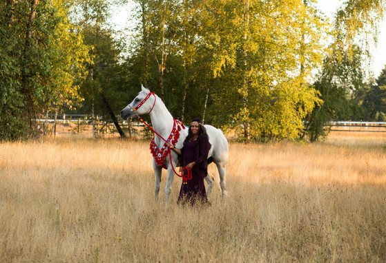 Arabian horse photo session in Olympia, Washington. Photos by A Bit O' Whimsy photography