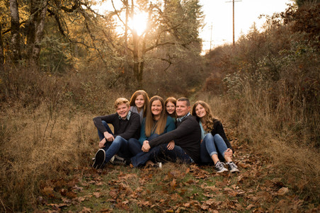 Fall Family Photography in Yelm, WA
