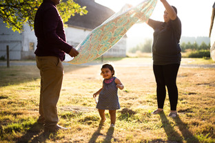 Family Photography Session at Nisqually Wildlife Refuge