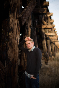 Senior boy photo session by A Bit O' Whimsy Photography