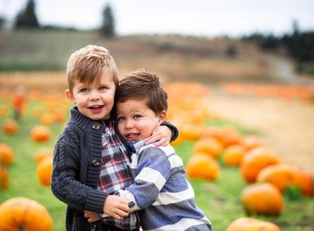 Yelm Mom's Club Pumpkin Patch Pics