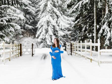 Leavitt Maternity Session