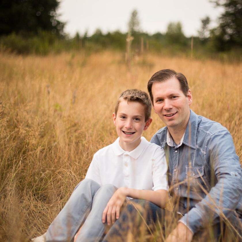 Fathers day mini photo session Thurston County WA