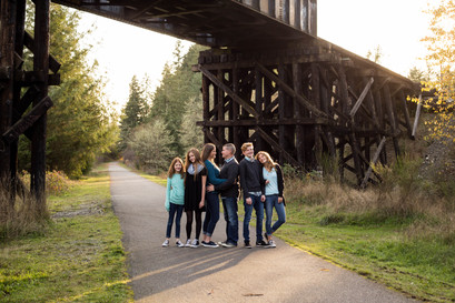 Family photos by A Bit O' Whimsy Photography in Yelm, WA