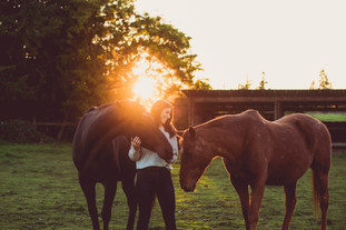 Equine Photography session in Yelm, WA by A Bit O'Whimsy photography