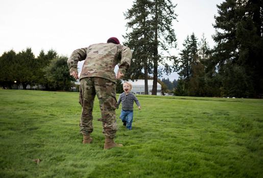 Father and son photos at Olympia State Capitol Building. Photography by A Bit O' Whimsy
